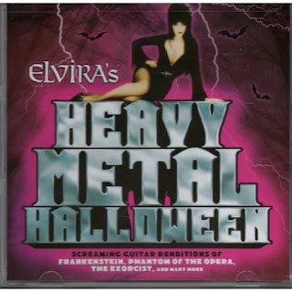 Front cover of Elvira's Heavy Metal Halloween