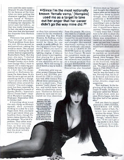 Elvira feature from Femme Fatales vol 4 #4 page 6