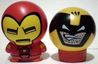 Iron Man and Wolverine Marvel Heroes Heads
