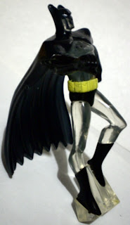 Right view of mystery Batman figure