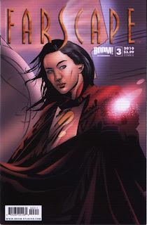 Cover B of Farscape #3 from Boom