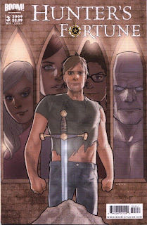 Cover A of Hunter's Fortune #3 from Boom