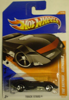 2011 Hot Wheels #66 The Batman Batmobile