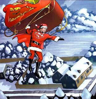 Merry Christmas from Super Santa