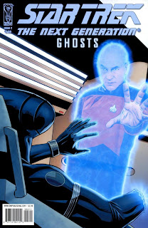Cover of Star Trek: The Next Generation: Ghosts #2 from IDW