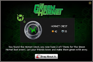 Hornet Crest at Mafia Wars