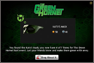 Kato's Mask at Mafia Wars