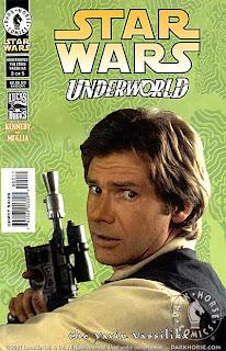 Photo cover of Star Wars: Underworld - The Yavin Vassilika #3 from Dark Horse
