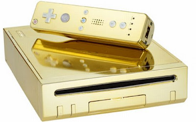 Gold Plated Wii for the Queen