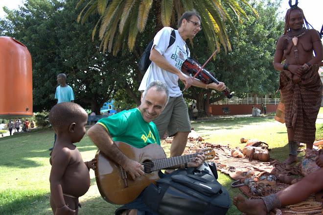 Palha de Milho e Himbas - Windhoek - Namíbia 2008
