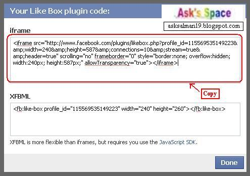 "495 x 348 · 35 kB · jpeg, CARA MEMBUAT ""WIDGET LIKE FACEBOOK"" DI"