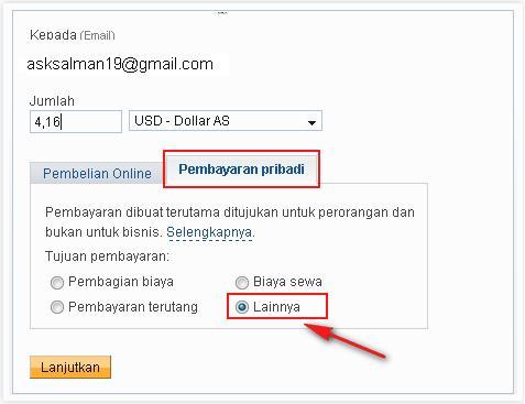 Tips Mengirim Uang /Transaksi Paypal Gratis
