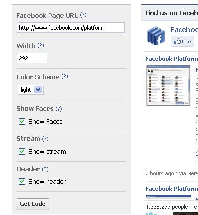 cara membuat similar to box fb di blog