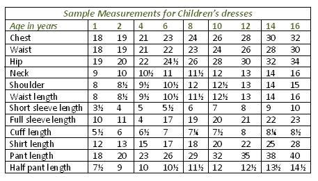 Swedish Baby Clothes Sizes
