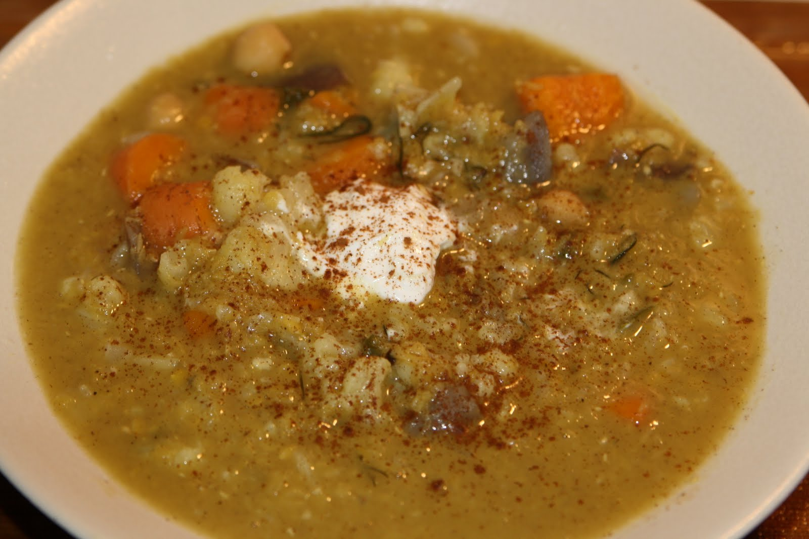 Indian-Inspired Mulligatawny Soup -- Seriously Soupy