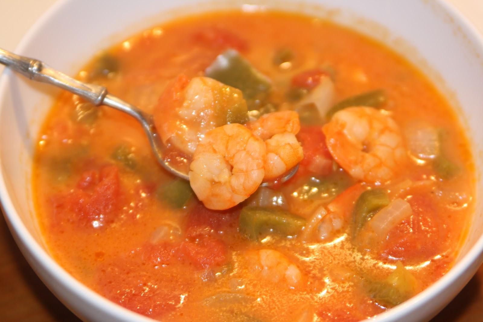 Супы из креветок рецепты