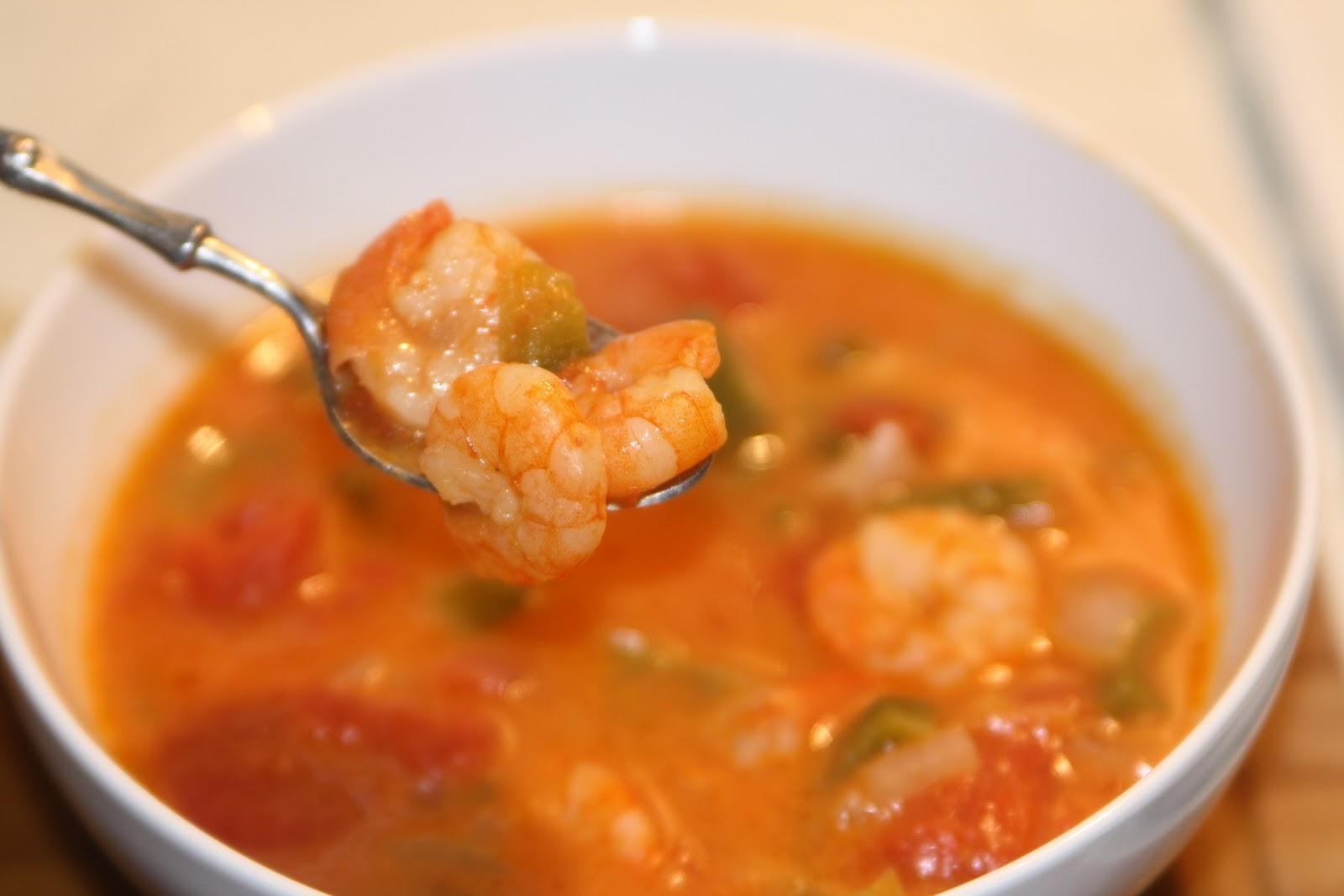 Рецепт суп пюре из креветок