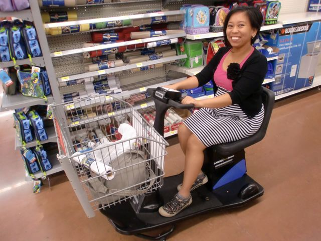 The Mis Adventures Of An International Student Walmart Racing Carts