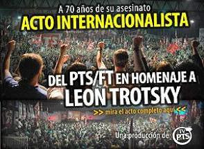 ACTO INTERNACIONALISTA DEL PTS | FT