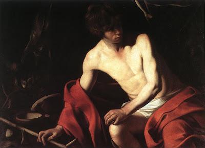 Caravaggio: João Baptista
