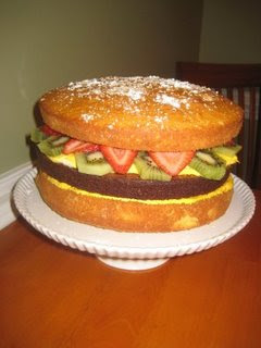 Cheeseburger cake yummy food recipes healthy yummy dinner cheeseburger cake forumfinder Image collections