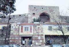 εισοδος πρωην φυλακων επταπυργιου-επταπυργιο fort eptapirgiou(yedi koule)