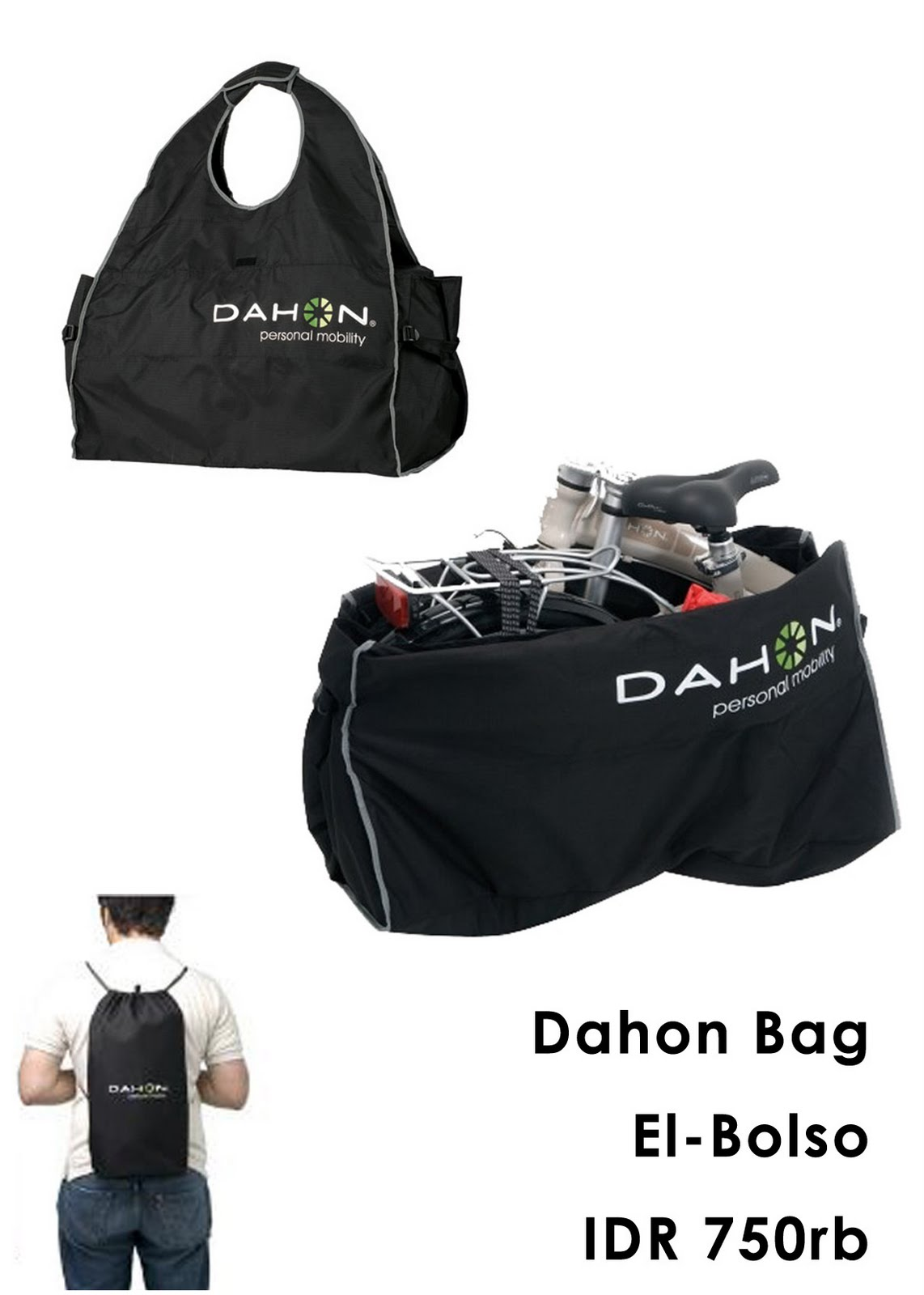 Dahon Bag El Bolso http://monsterbikestc.blogspot.com/2010_05_01_archive.html
