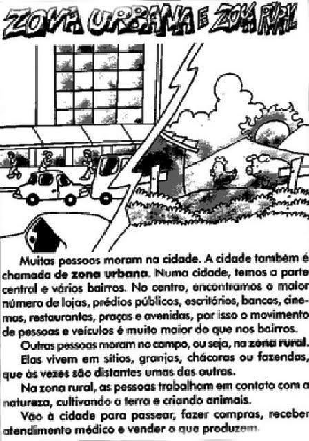 Comunidad rural y urbana para colorear - Imagui