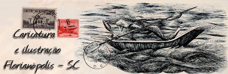 Caricatura e ilustração - Florianópolis - Maurizio Di Reda