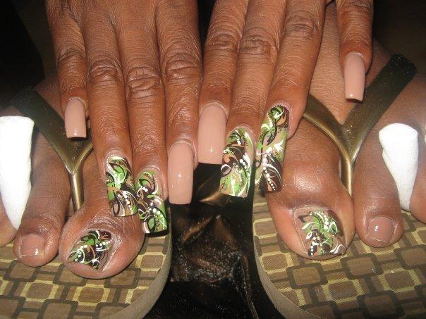 Camoflage Nails