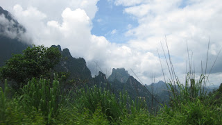 Scenery on way to Luang Prabang from Vientiane