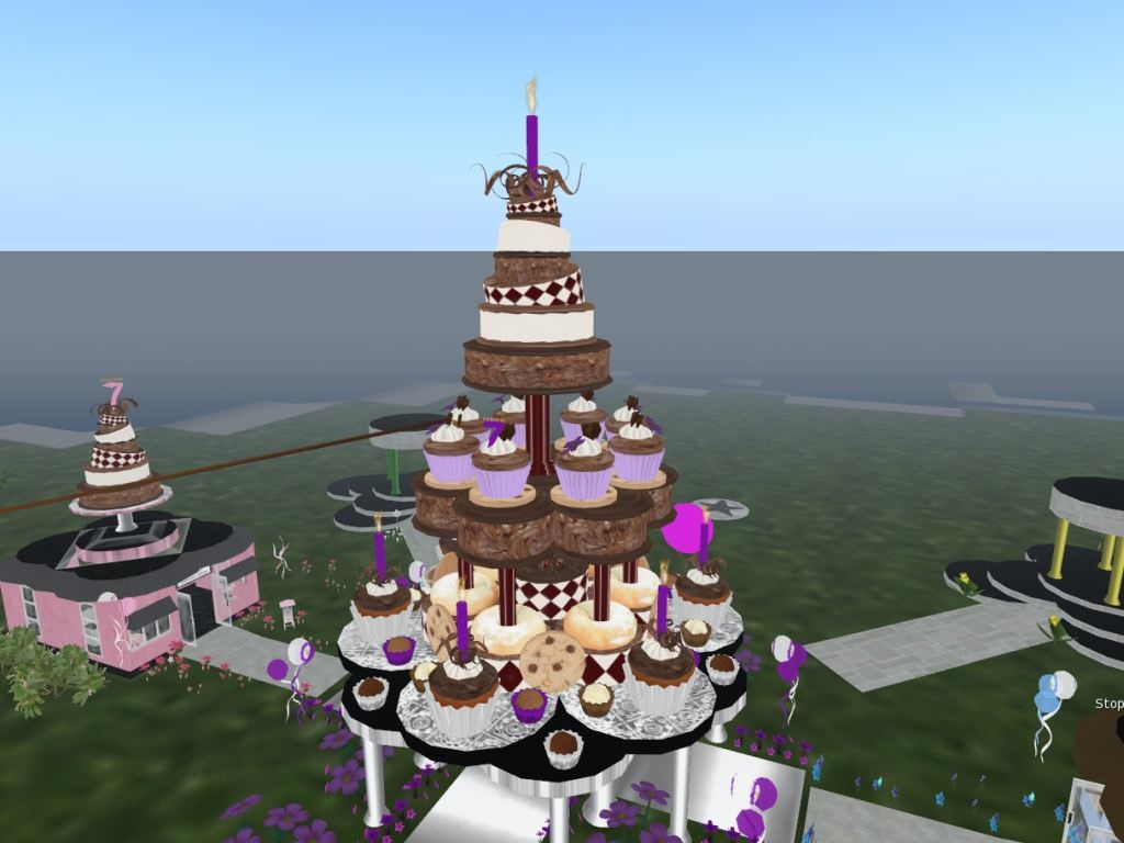 Images Of Huge Birthday Cake : Second Life Newser: June 2010