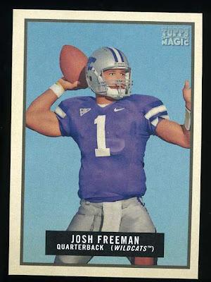 2009 Topps Magic Josh Freeman