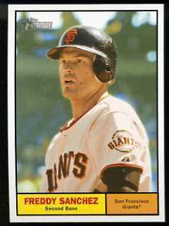 2010 Topps Heritage Freddy Sanchez SP