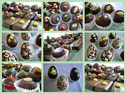 Huevos de Pascua y Bombones rellenos huevos de pascua