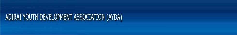 Adirai Youth Development Association (AYDA)