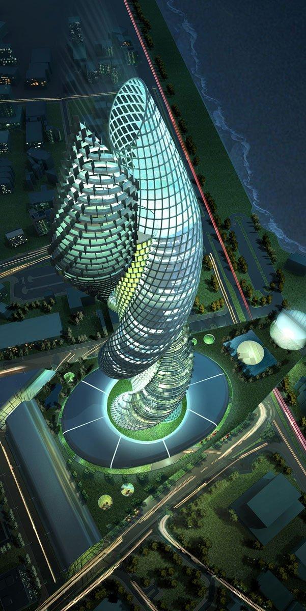 hello world   cobra tower in kuwait