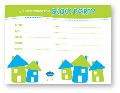 Block Party Invitation Template. . Block Party Invitation Use This ...