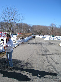 Randolph respite from crunchy snow