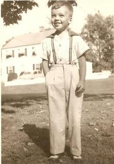 Herbert O. Fisher, Jr., age 6 in Caldwell, NJ