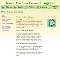 Kinnelon After School Enrichment Program - KASE