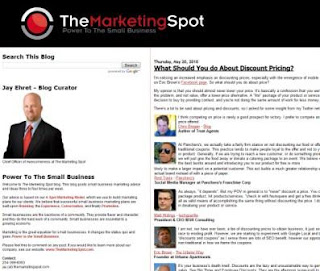 Jay Ehret, The Marketing Spot