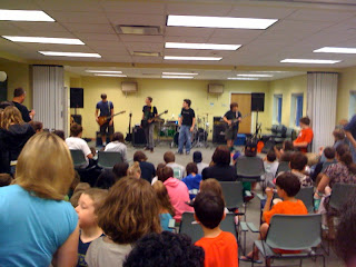 Triphobia performing at Kinnelon Library