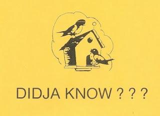 Didja Know?