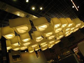 Green Depot ceiling