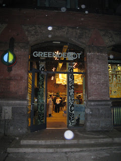 Green Deport storefront NYC