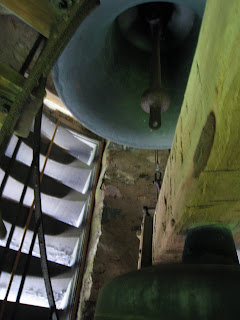 St. Hubert's Chapel Bell Tower stairs