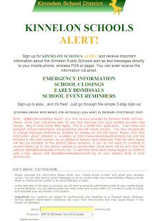 Kinnelon Information Alerts
