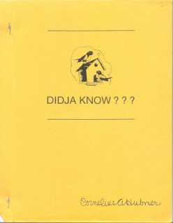 Didja Know? The Master File