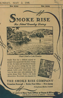 Smoke Rise 1948 advertisement